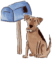 dog-mailbox