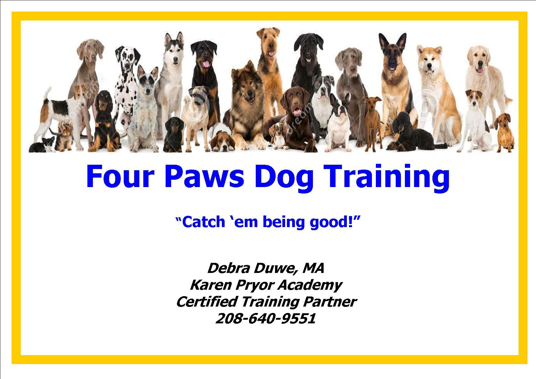 Four Paws Dog Training